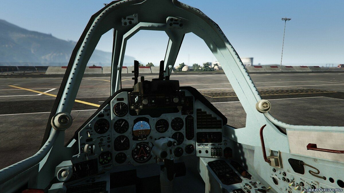 Su-25 [Add-On/Replace] v1.1 для GTA 5 - скриншот #7