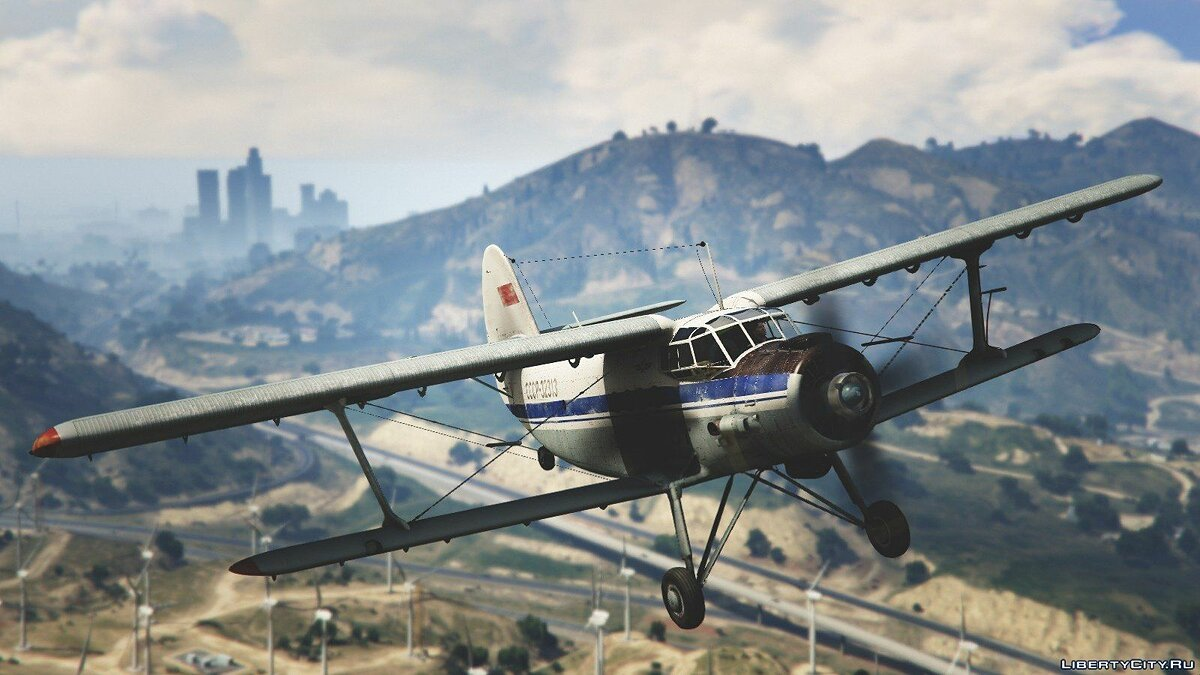 An-2 [Replace / Livery] v1.0 для GTA 5