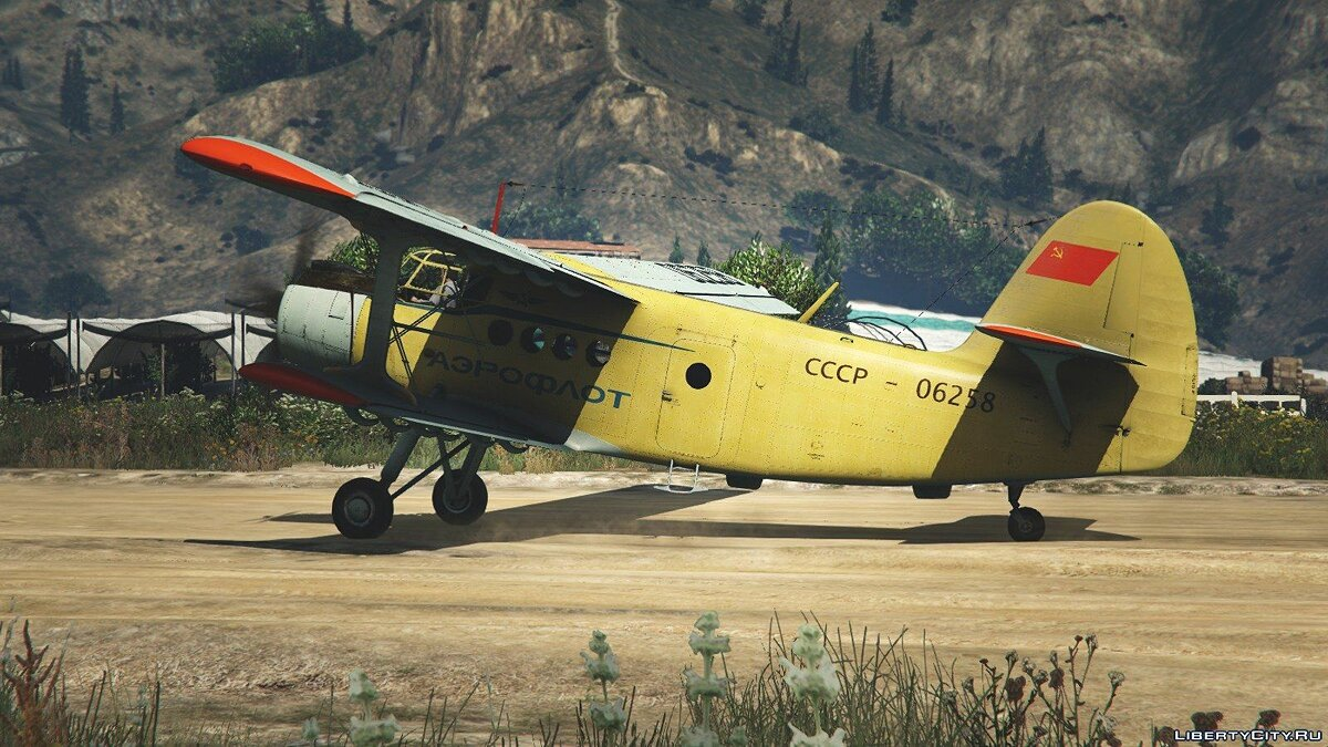 An-2 [Replace / Livery] v1.0 для GTA 5 - скриншот #2