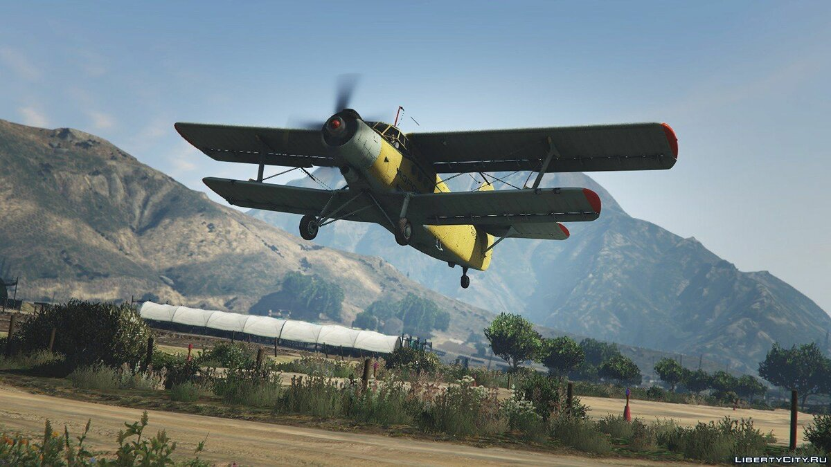 An-2 [Replace / Livery] v1.0 для GTA 5 - скриншот #3