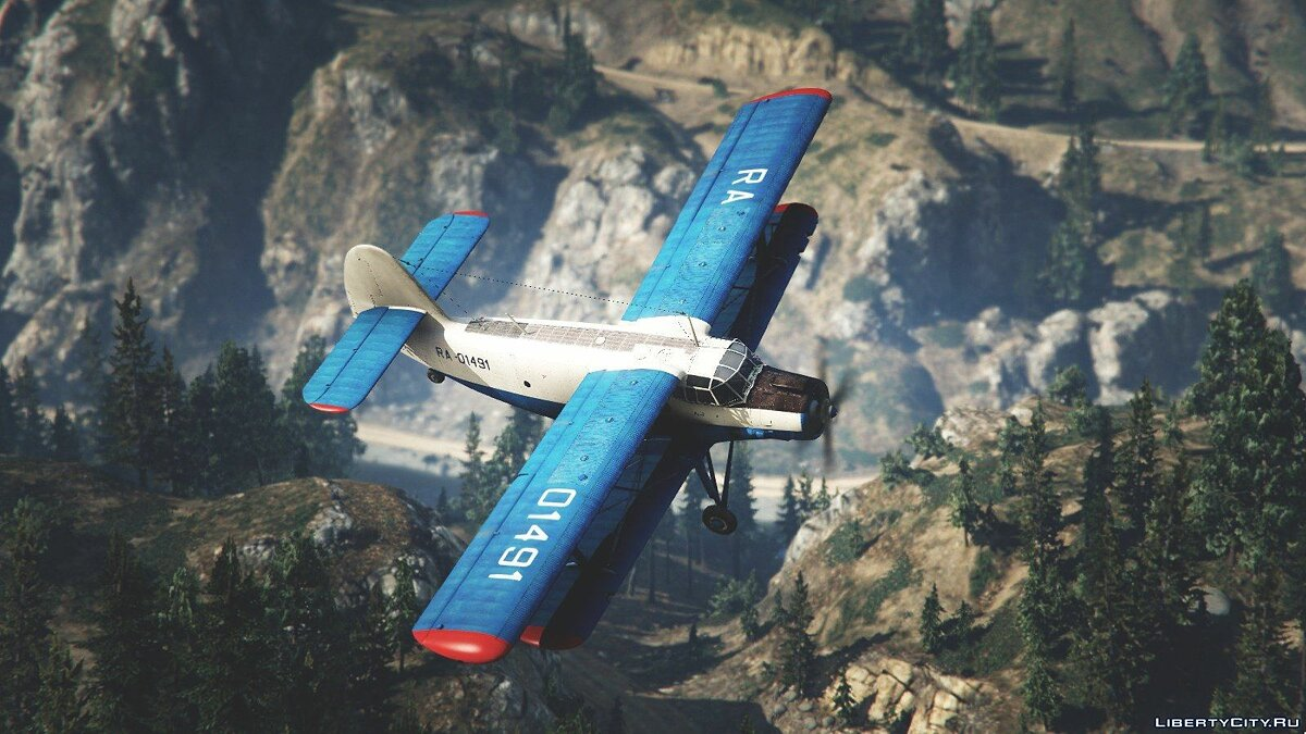 An-2 [Replace / Livery] v1.0 для GTA 5 - скриншот #8