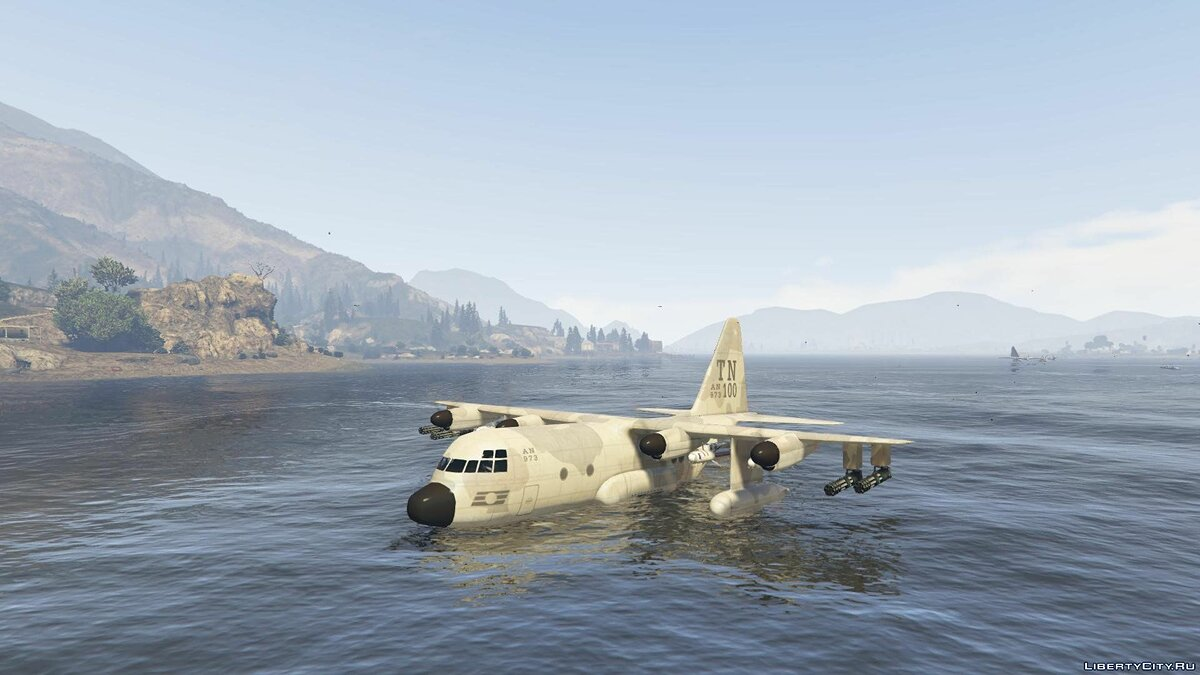 ��амолет и вертолет Titan Seaplane [Add-On / Replace] для GTA 5