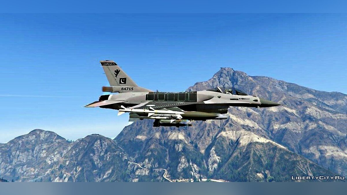 F-16 C Block 52+ [Add-On /Replace] 1.0 для GTA 5 - скриншот #2
