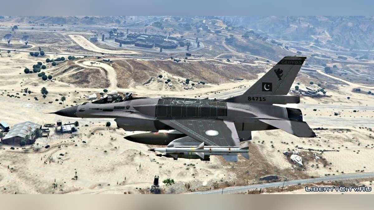 F-16 C Block 52+ [Add-On /Replace] 1.0 для GTA 5 - скриншот #4