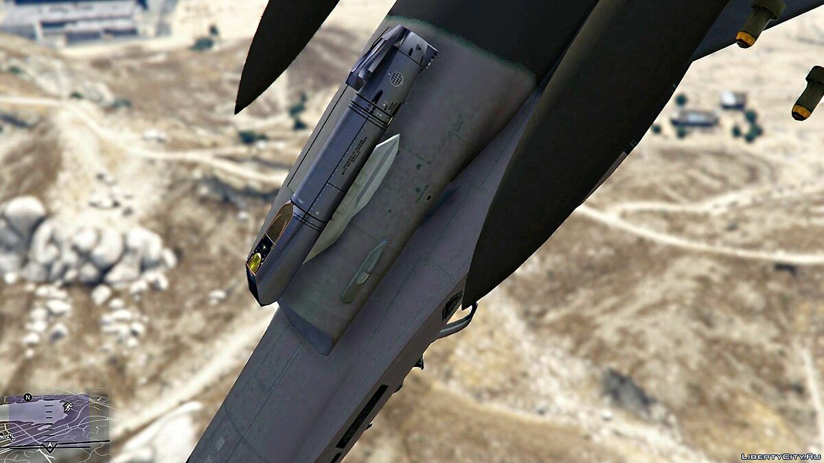 F-16 C Block 52+ [Add-On /Replace] 1.0 для GTA 5 - скриншот #6