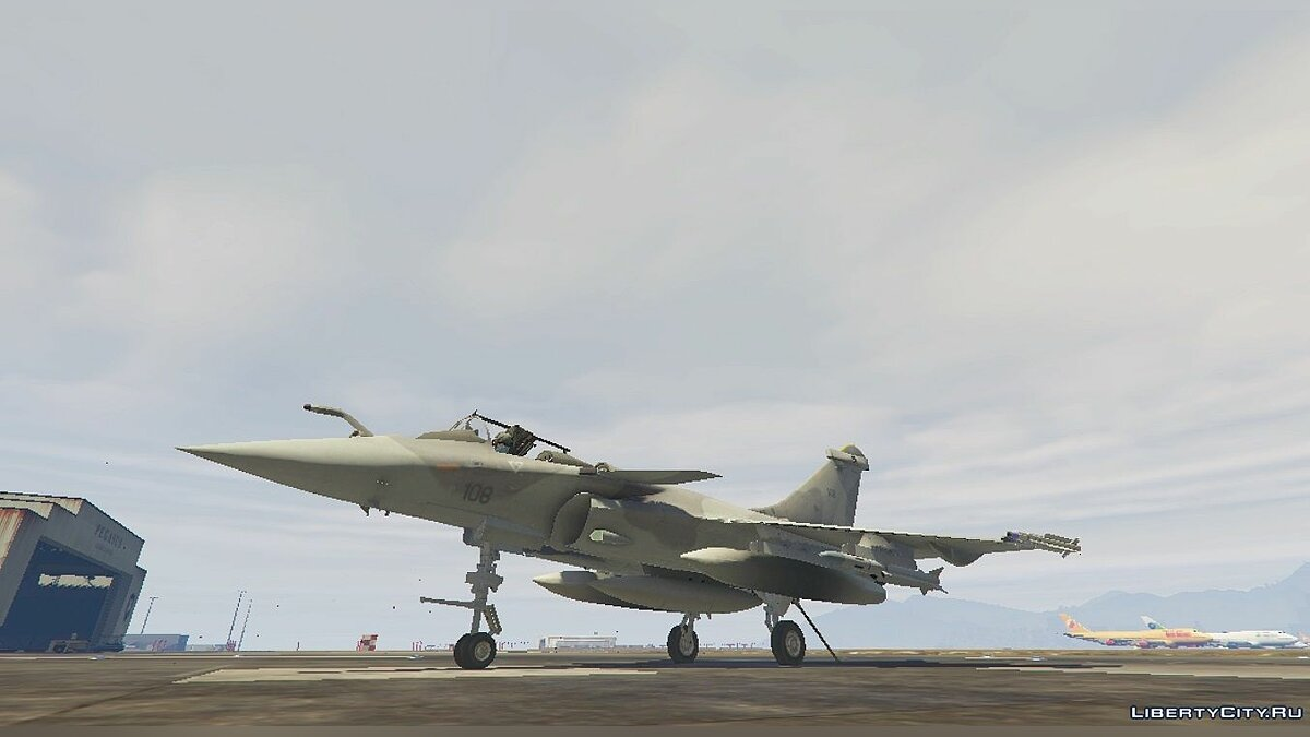 Dassault Rafale Navy [Add-On] 1.1 для GTA 5