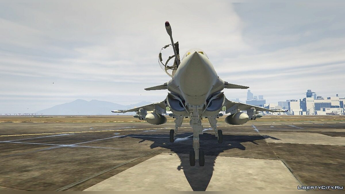Dassault Rafale Navy [Add-On] 1.1 для GTA 5 - скриншот #3