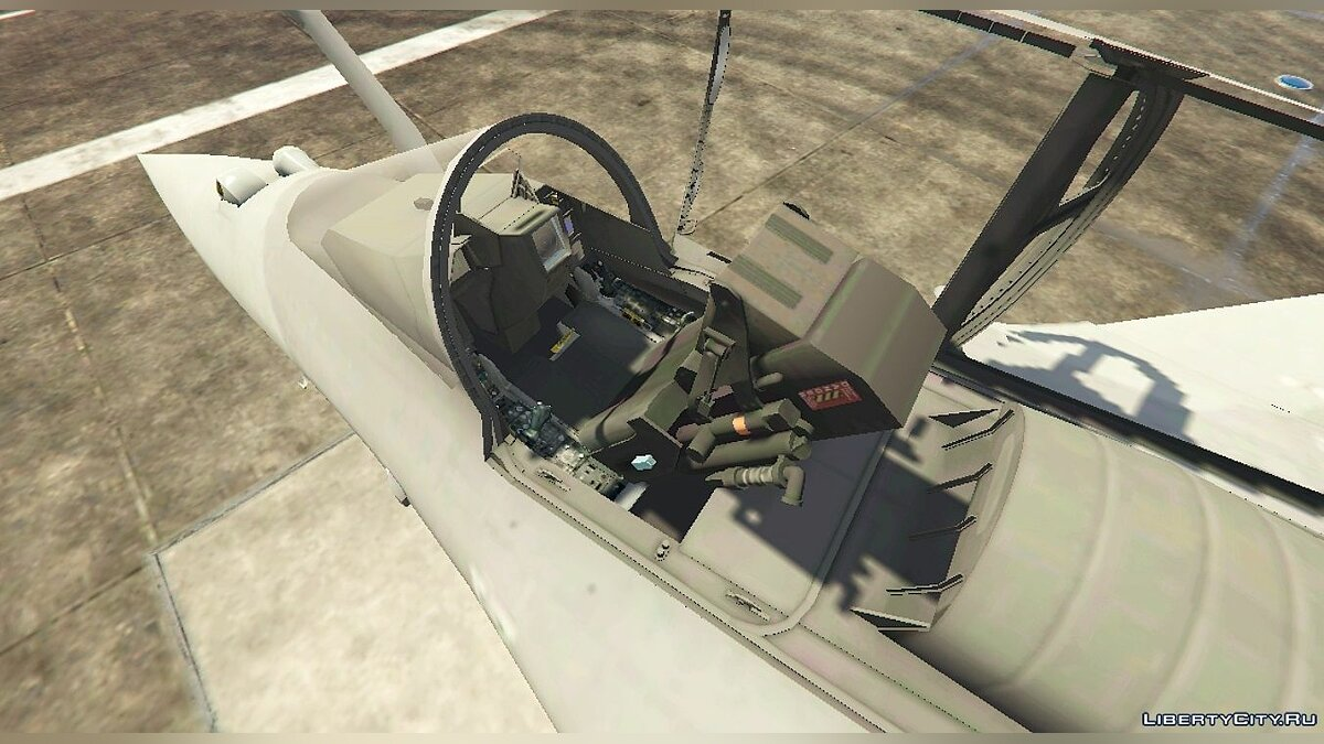 Dassault Rafale Navy [Add-On] 1.1 для GTA 5 - скриншот #5