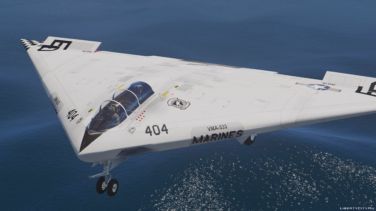A-12A Avenger II Navy Stealth Bomber [Add-On] для GTA 5