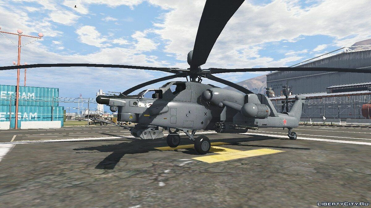 Mi-28 Night Hunter [Replace] 1.1 для GTA 5 - скриншот #2