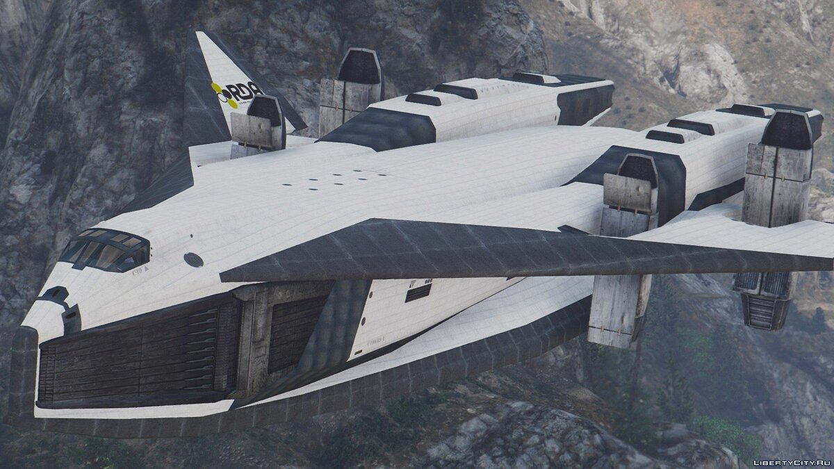 TAV-37 Valkyrie SSTO Shuttle from Avatar [Add-On] для GTA 5