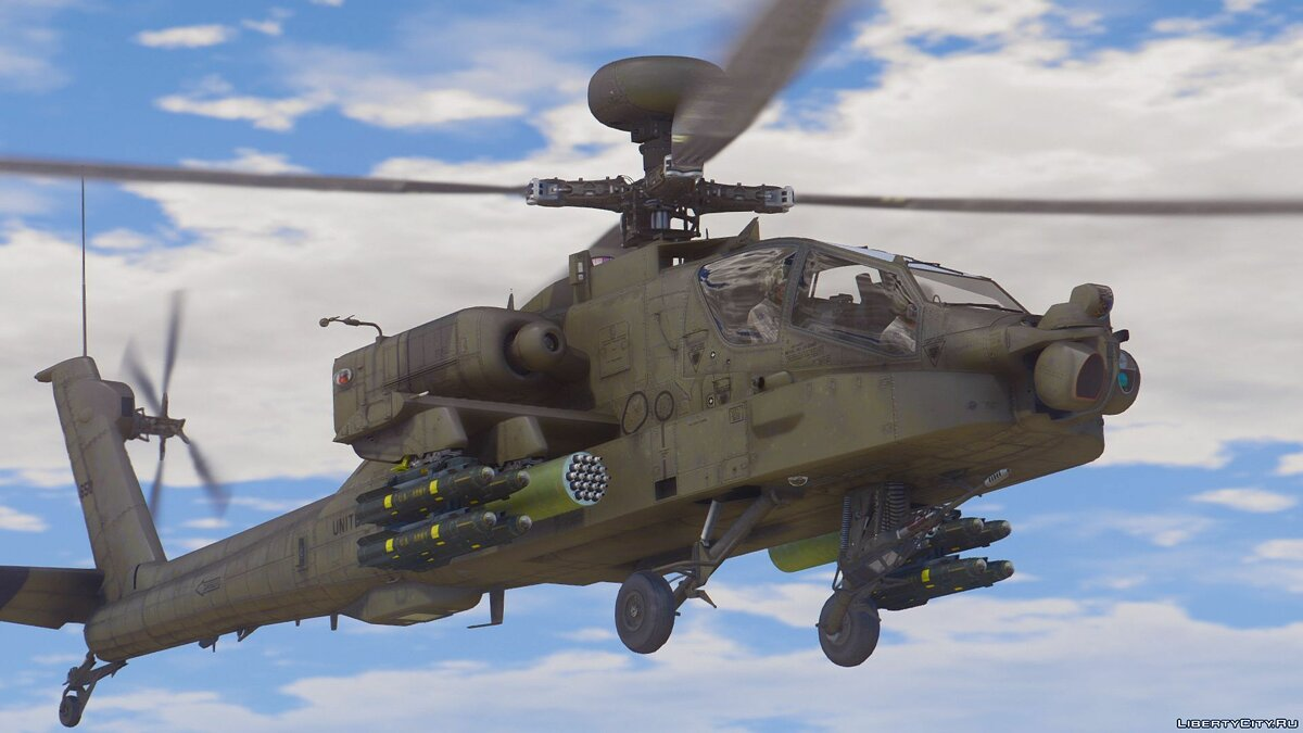 AH-64D Longbow Apache [Add-On | Wipers] 2.0 для GTA 5