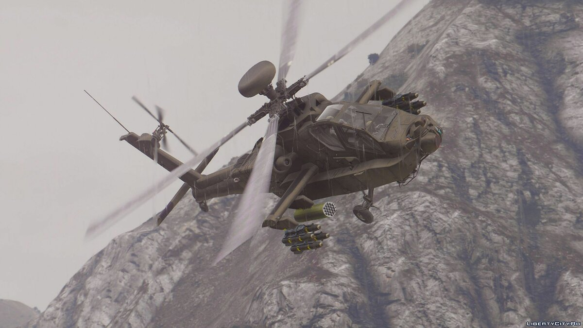 AH-64D Longbow Apache [Add-On | Wipers] 2.0 для GTA 5 - скриншот #2