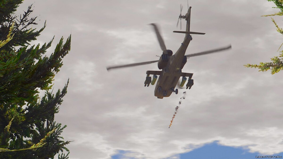 AH-64D Longbow Apache [Add-On | Wipers] 2.0 для GTA 5 - скриншот #3