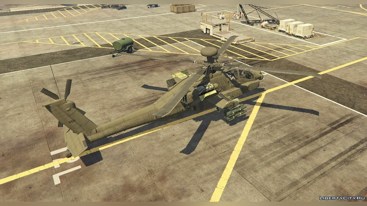 AH-64D Longbow Apache [Add-On | Wipers] 2.0 для GTA 5 - скриншот #6