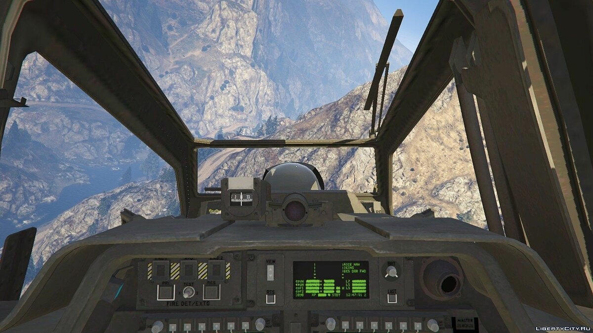 AH-64D Longbow Apache [Add-On | Wipers] 2.0 для GTA 5 - скриншот #7