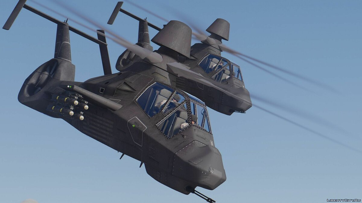 RAH-66 Comanche Stealth Attack Helicopter [Add-On] для GTA 5