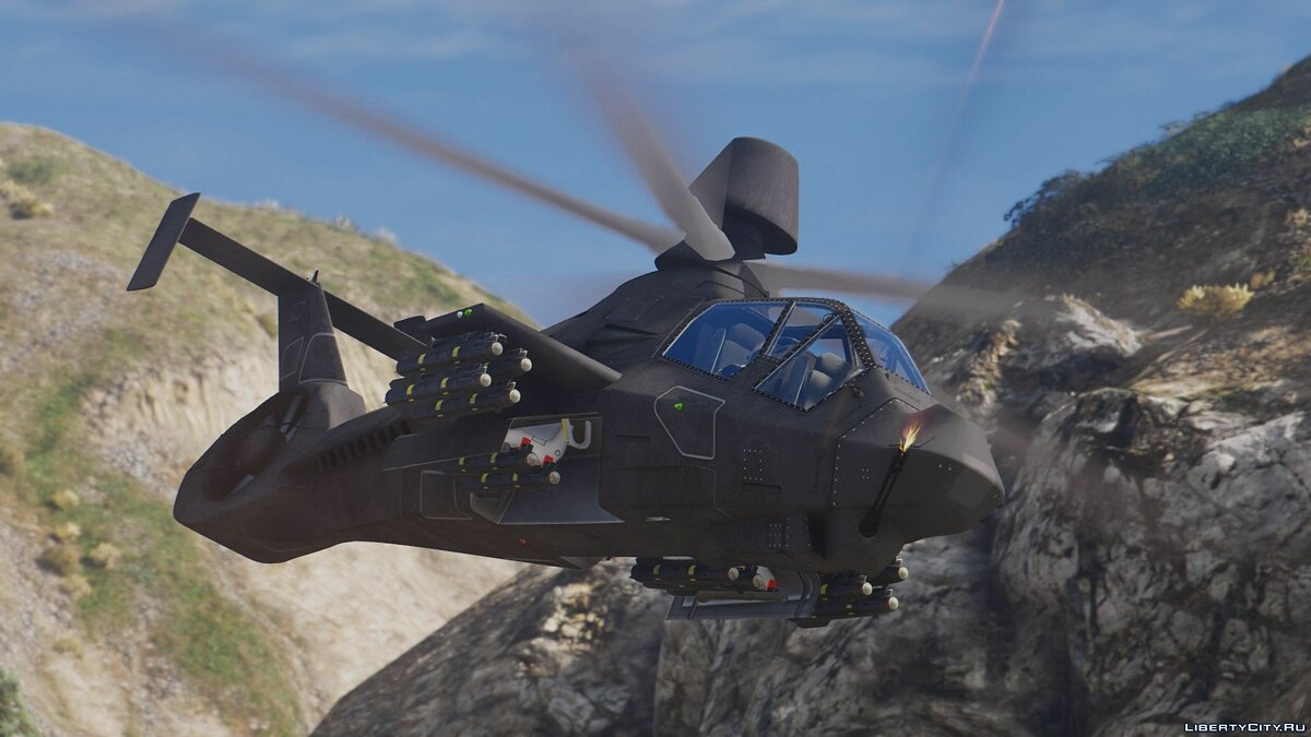 RAH-66 Comanche Stealth Attack Helicopter [Add-On] для GTA 5 - скриншот #2