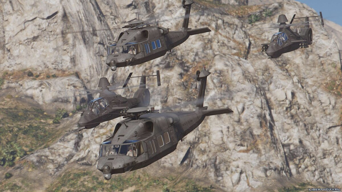 RAH-66 Comanche Stealth Attack Helicopter [Add-On] для GTA 5 - скриншот #5
