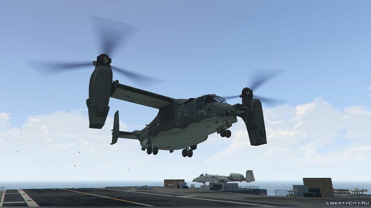CV-22B Osprey [Add-On / Enterable interior] 1.5 для GTA 5