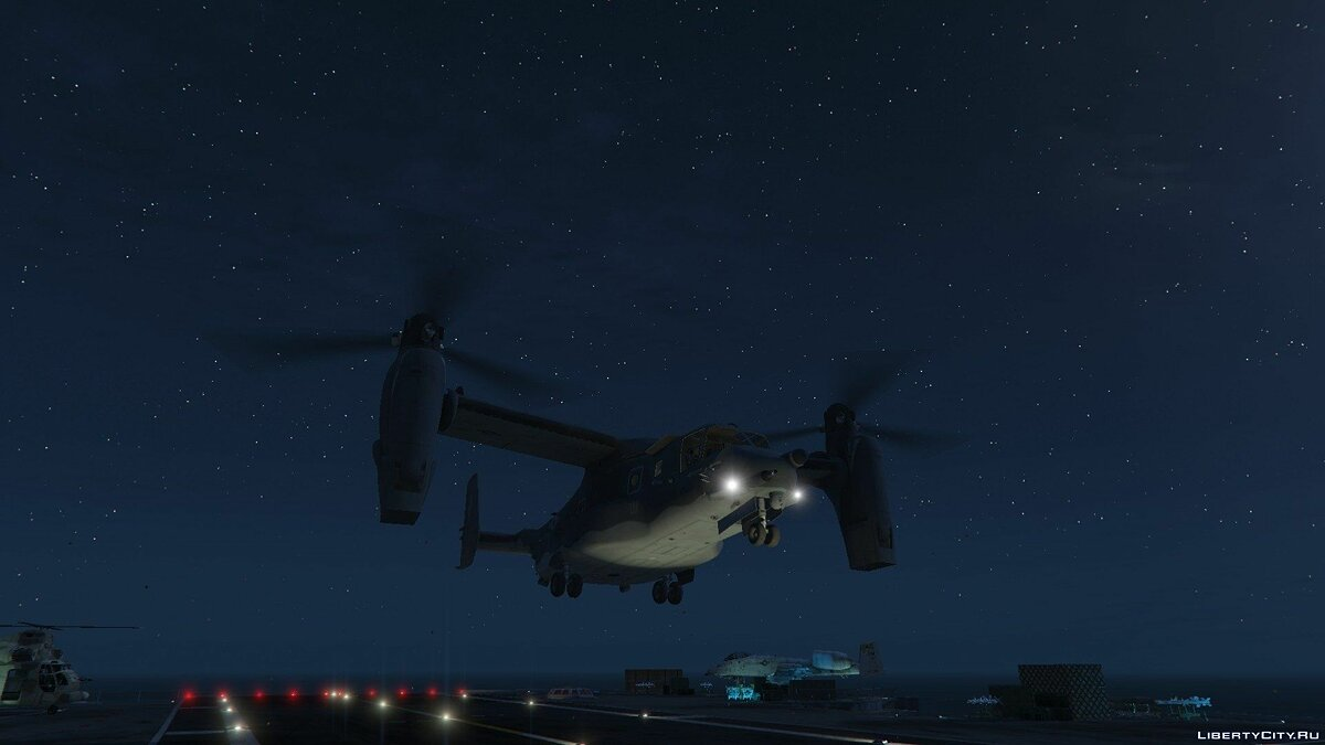CV-22B Osprey [Add-On / Enterable interior] 1.5 для GTA 5 - скриншот #3