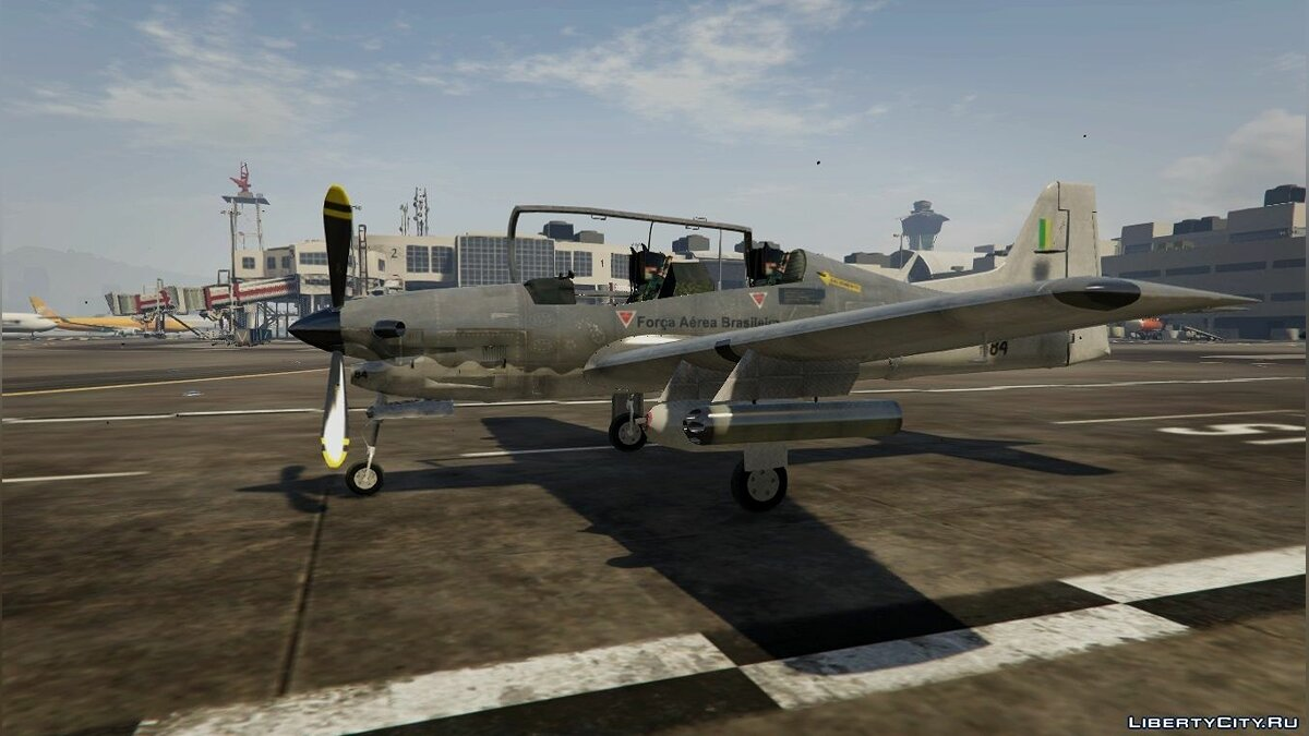 EMB-312 Tucano [Add-On] для GTA 5 - скриншот #5