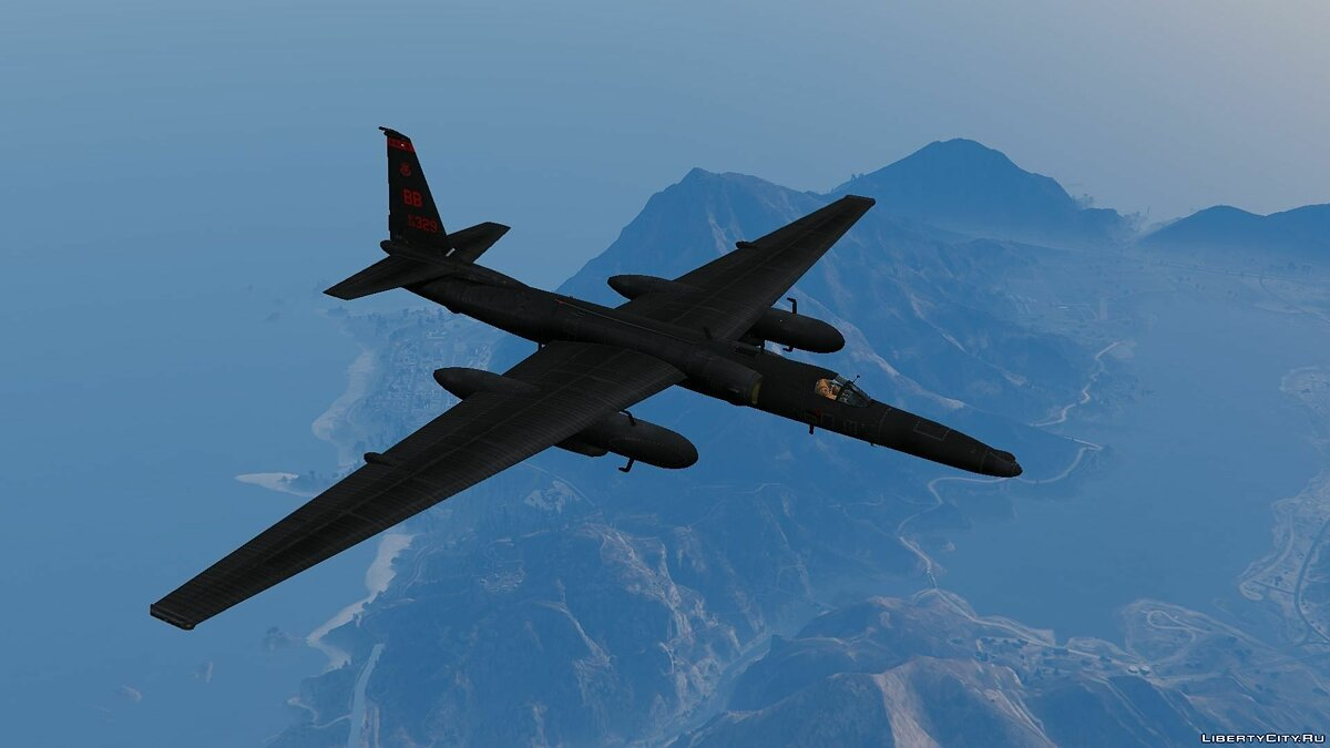 U-2S Dragon Lady Spyplane для GTA 5