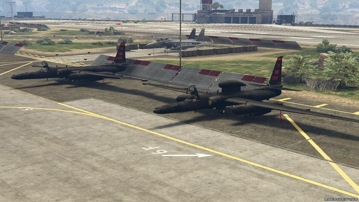 U-2S Dragon Lady Spyplane для GTA 5 - скриншот #4