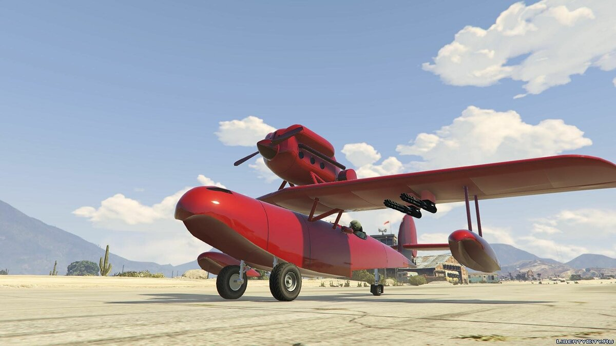 ��амолет и вертолет Macchi M33 [+ Add-On] для GTA 5