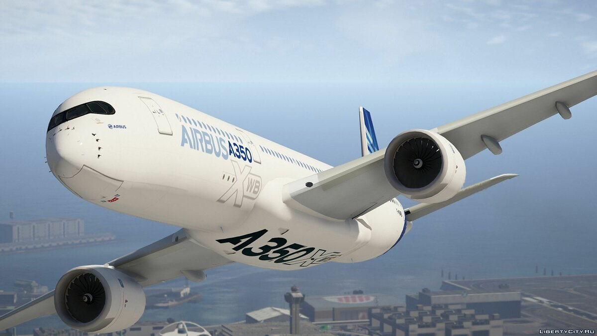 Airbus A350-900XWB [Add-On] 1.0 для GTA 5