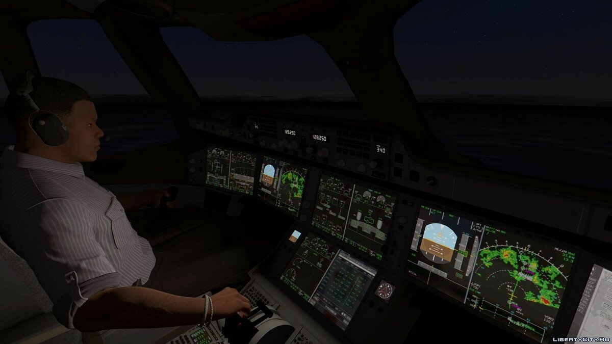 Airbus A350-900XWB [Add-On] 1.0 для GTA 5 - скриншот #6