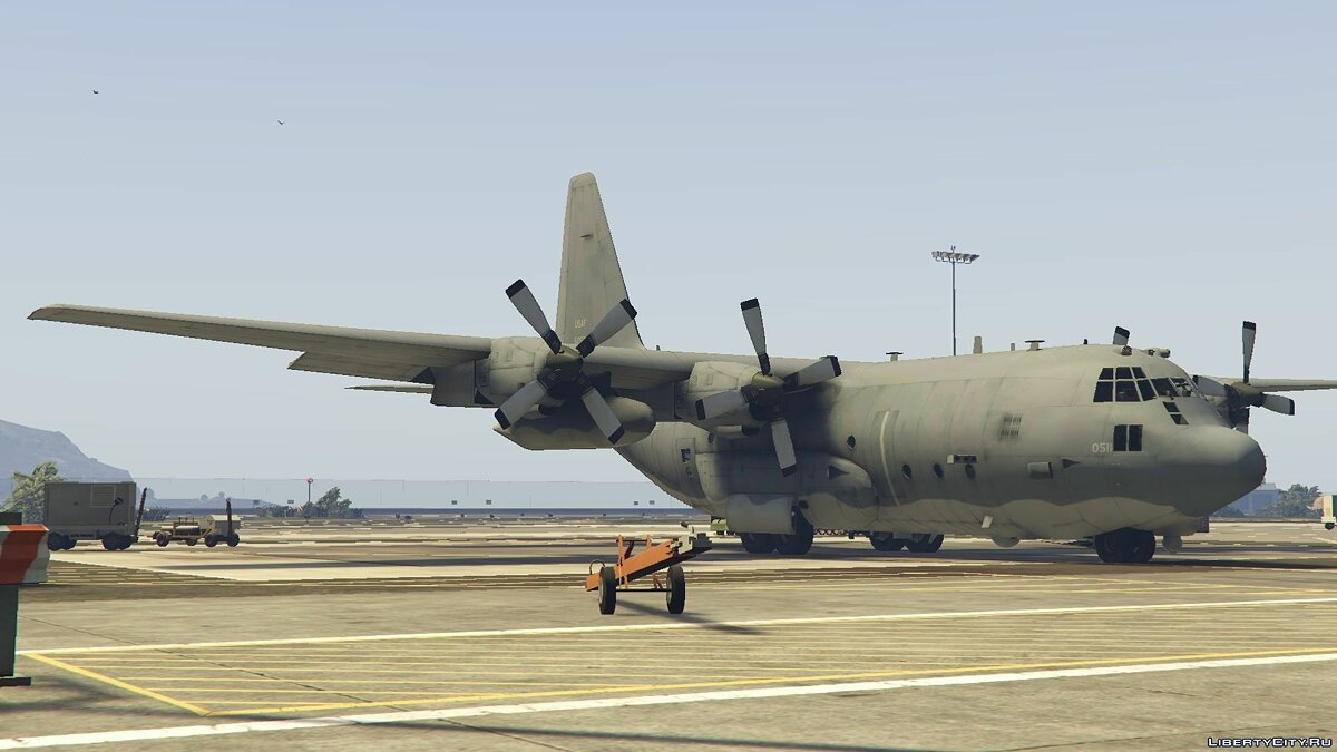 AC-130U Spooky II Gunship [Add-On | Working Cannons] для GTA 5
