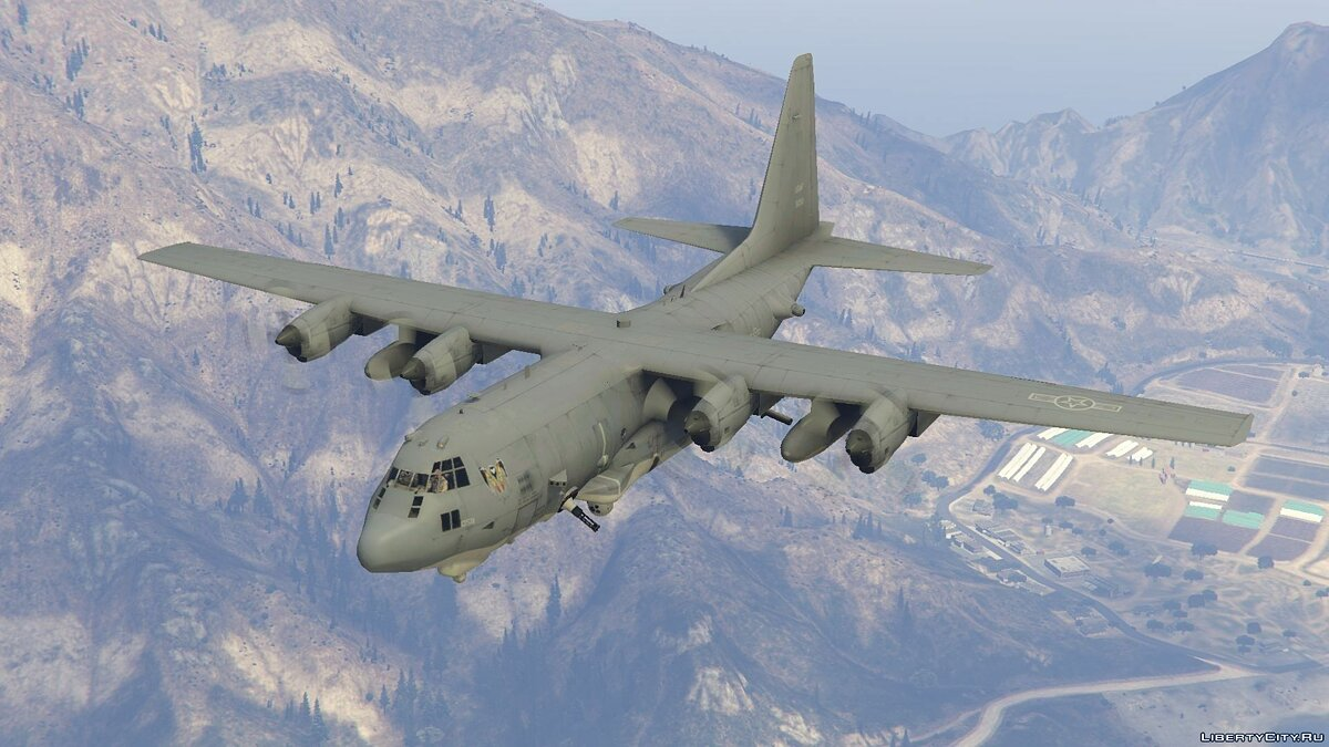 AC-130U Spooky II Gunship [Add-On | Working Cannons] для GTA 5 - скриншот #5