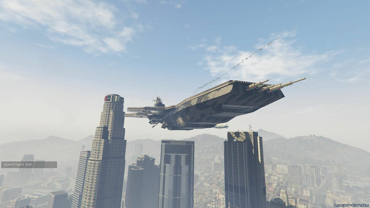 S.H.I.E.L.D. Helicarrier for Titan [Add-On] 1.1 для GTA 5 - скриншот #4