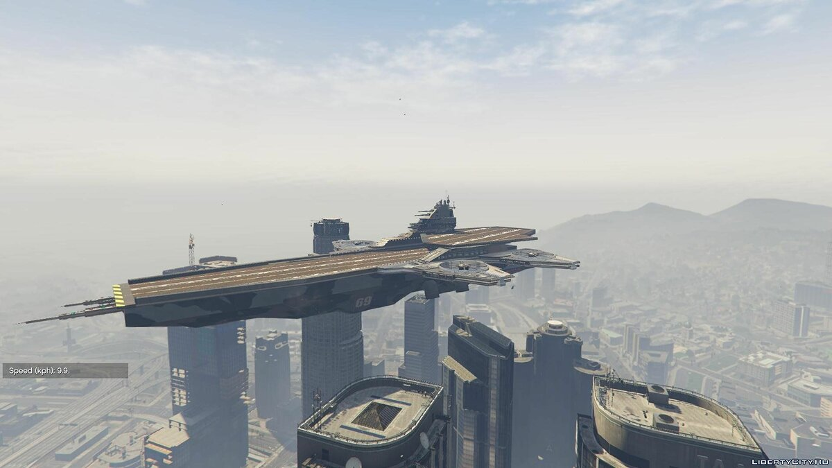 S.H.I.E.L.D. Helicarrier for Titan [Add-On] 1.1 для GTA 5 - скриншот #2