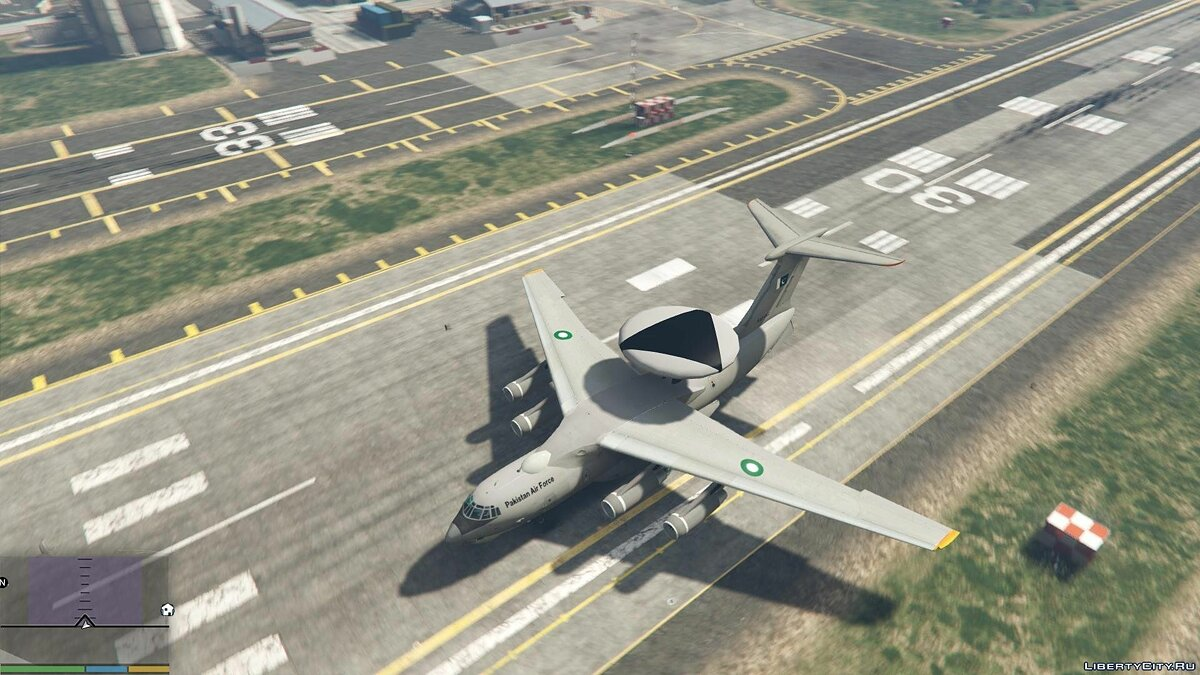 KJ2000/Beriev A-50 AWE&C Pakistan [Add-On / Replace] 1.1 для GTA 5 - скриншот #4