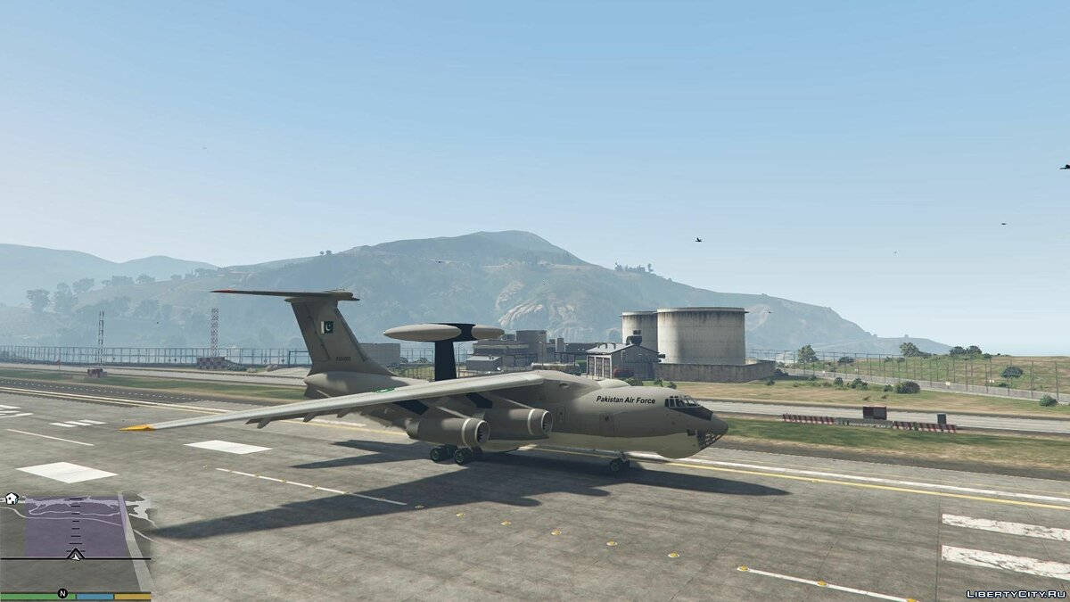 KJ2000/Beriev A-50 AWE&C Pakistan [Add-On / Replace] 1.1 для GTA 5 - скриншот #5