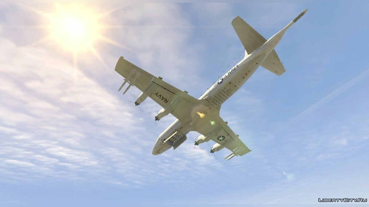 ��амолет и вертолет Lockheed P-3 Orion [Add-On / Replace] для GTA 5