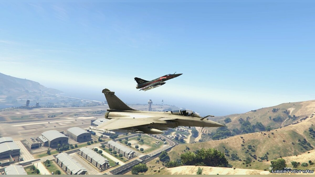 Dassault Rafale [Add-On] для GTA 5