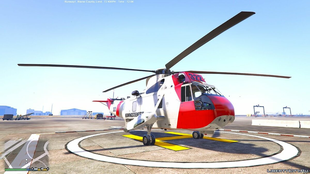 Norwegian SeaKing Helicopter - SAR 0.1 для GTA 5