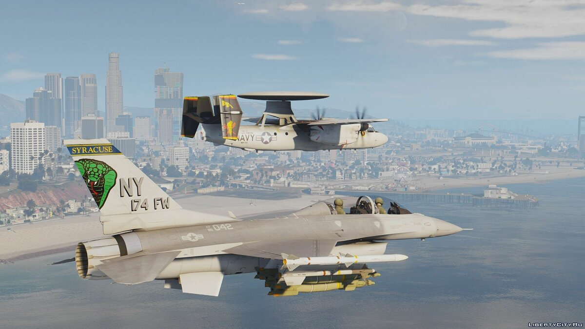 F-16D Fighting Falcon (USAF) [Add-On] для GTA 5