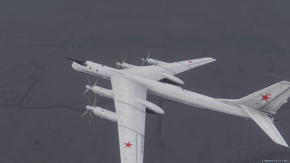Tu-95MS Bear [Add-On] для GTA 5 - скриншот #5