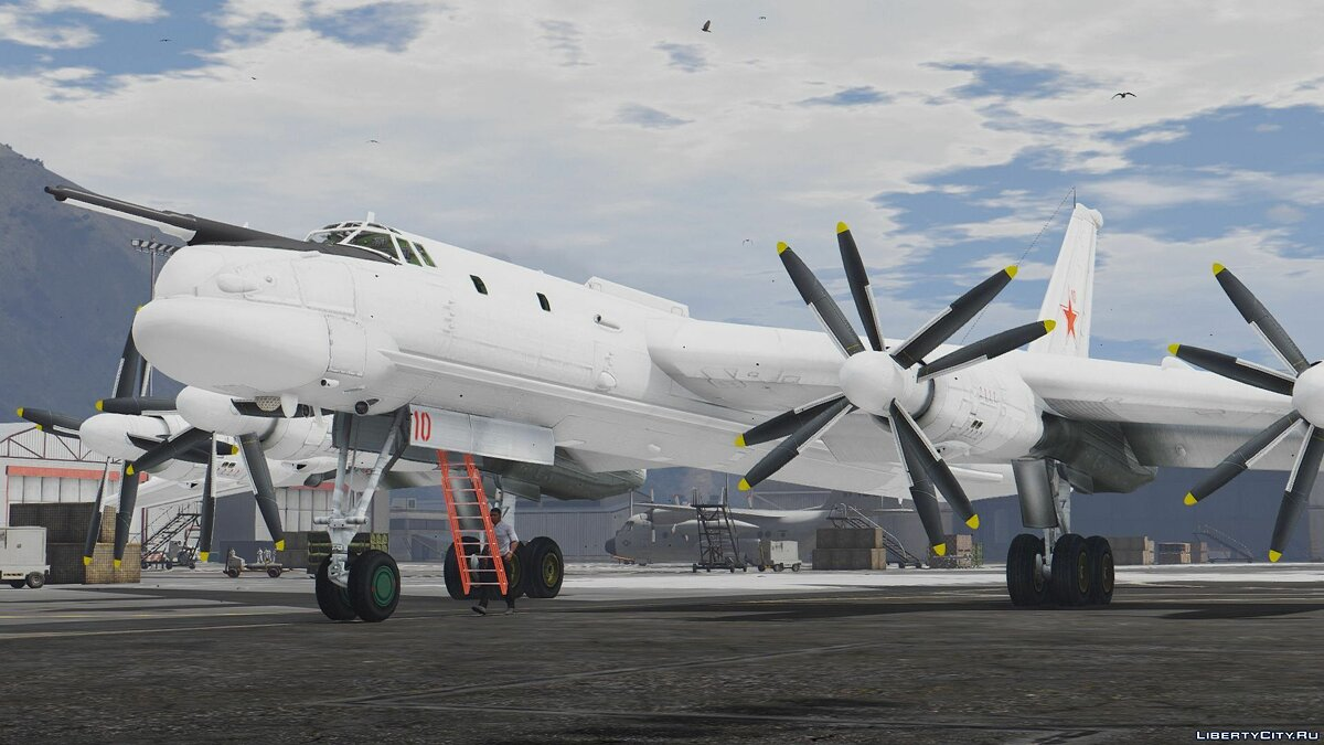 Tu-95MS Bear [Add-On] для GTA 5 - скриншот #2