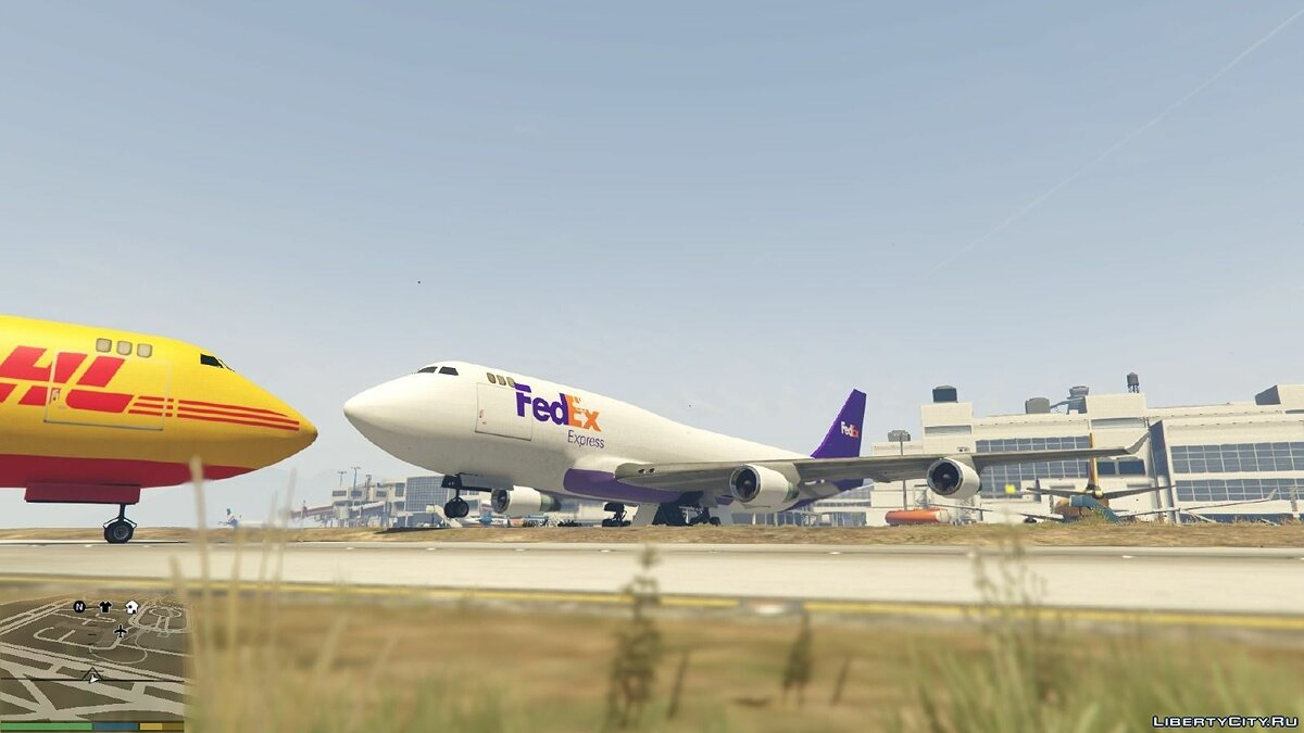 Realistic Cargo Airline Textures 1.2 для GTA 5