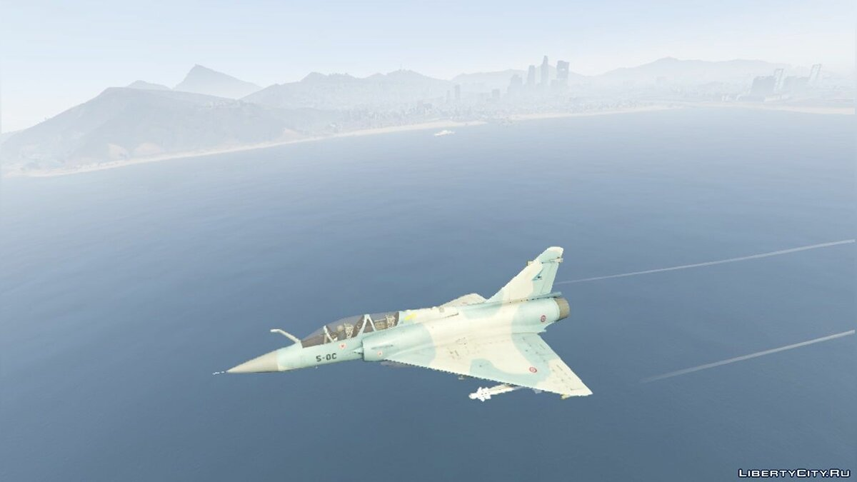 Dassault Breguet Mirage 2000-B N [Add-On] для GTA 5