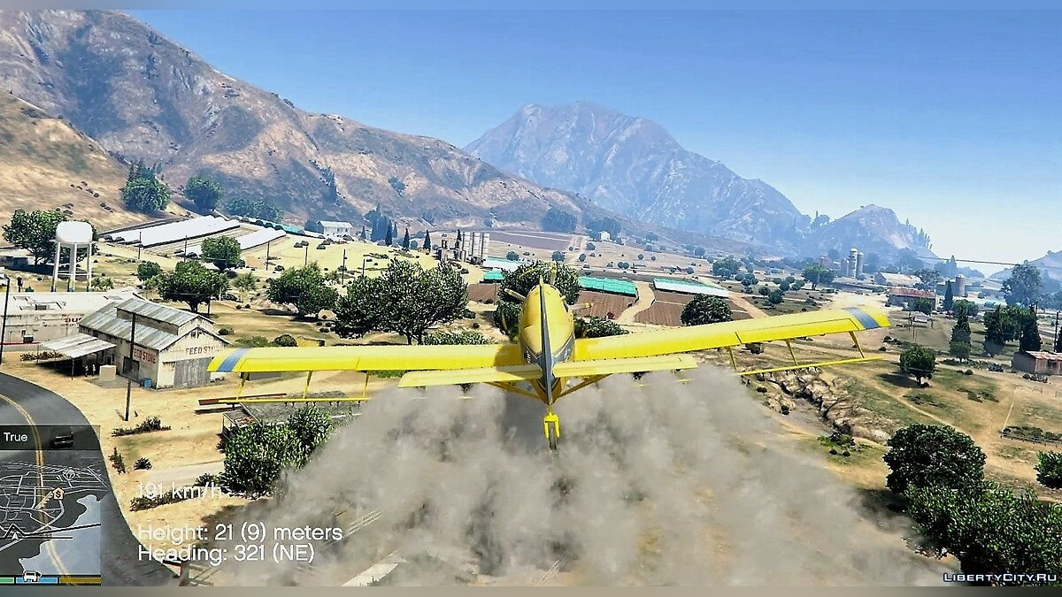 Air Tractor AT-802 Crop Duster [Add-On / Replace] 1.0 для GTA 5 - скриншот #2