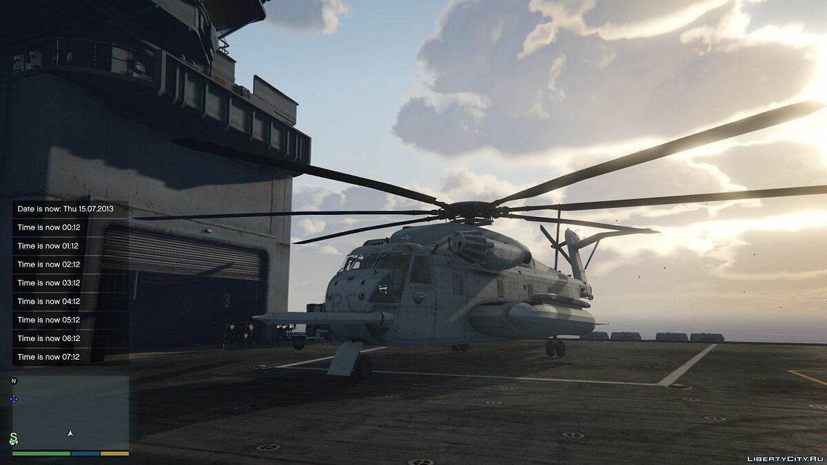Sikorsky CH-53 Sea Stallion [Add-on / Replace] 0.2 для GTA 5