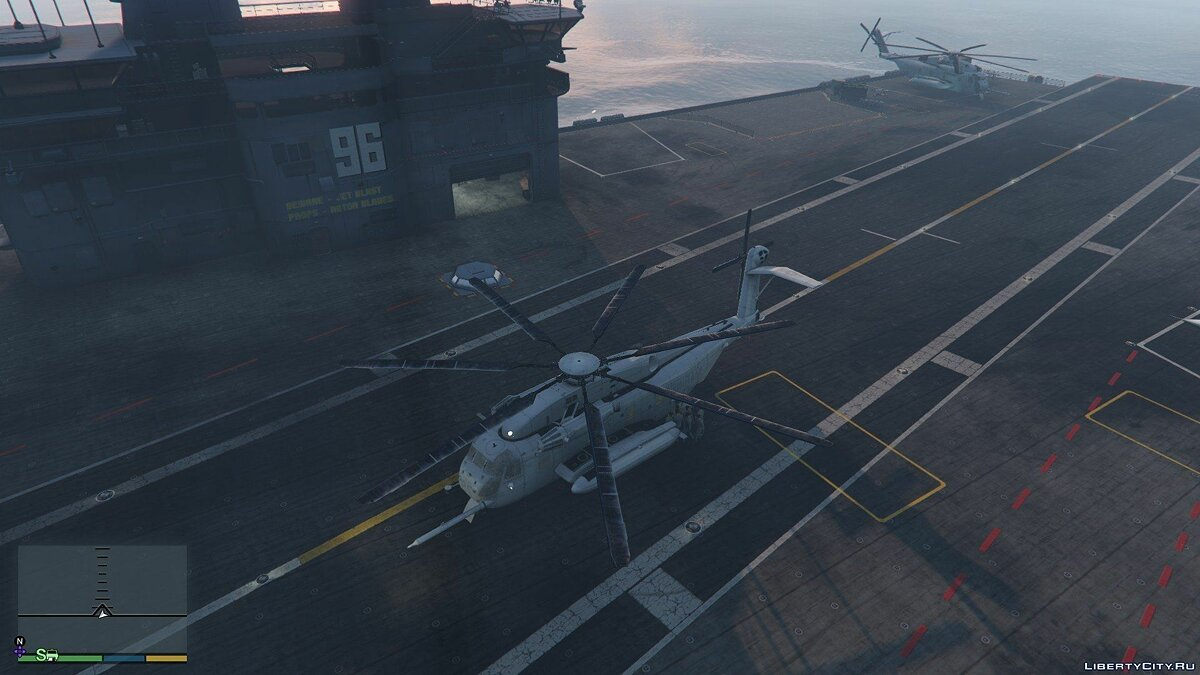 Sikorsky CH-53 Sea Stallion [Add-on / Replace] 0.2 для GTA 5 - скриншот #2