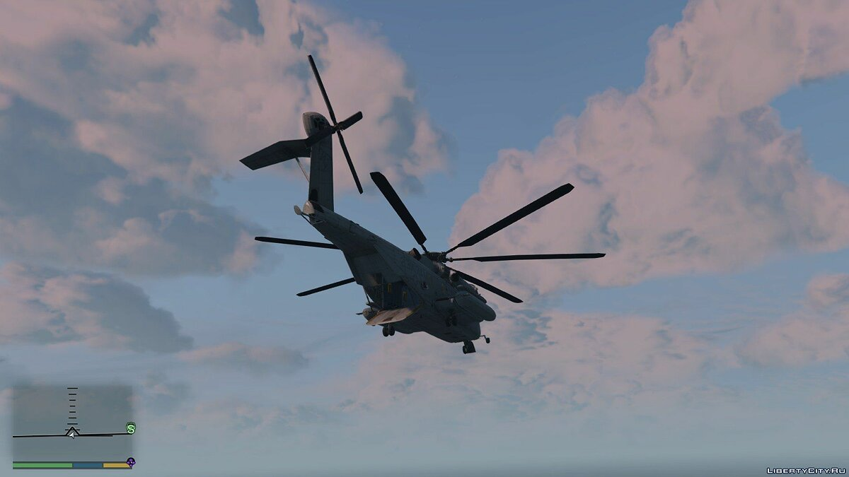 Sikorsky CH-53 Sea Stallion [Add-on / Replace] 0.2 для GTA 5 - скриншот #4
