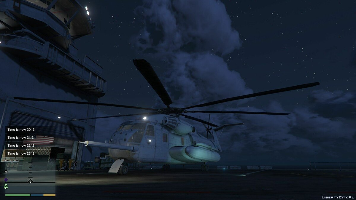 Sikorsky CH-53 Sea Stallion [Add-on / Replace] 0.2 для GTA 5 - скриншот #5